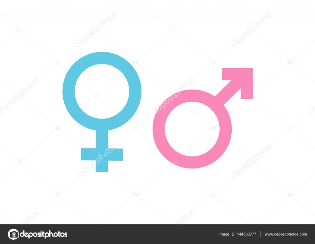 Mulher e homem de símbolo de sexo — Vetores de Stock © Meon  144533777 4d5d6caf706