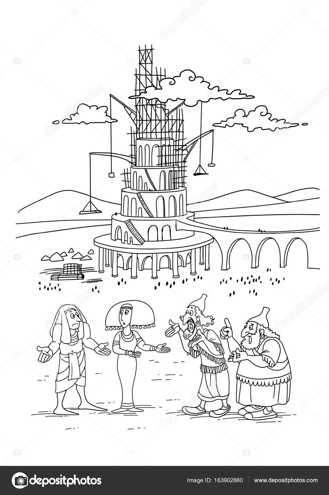 The Builders Of The Tower Of Babel Stock Photo C Askib 163902860