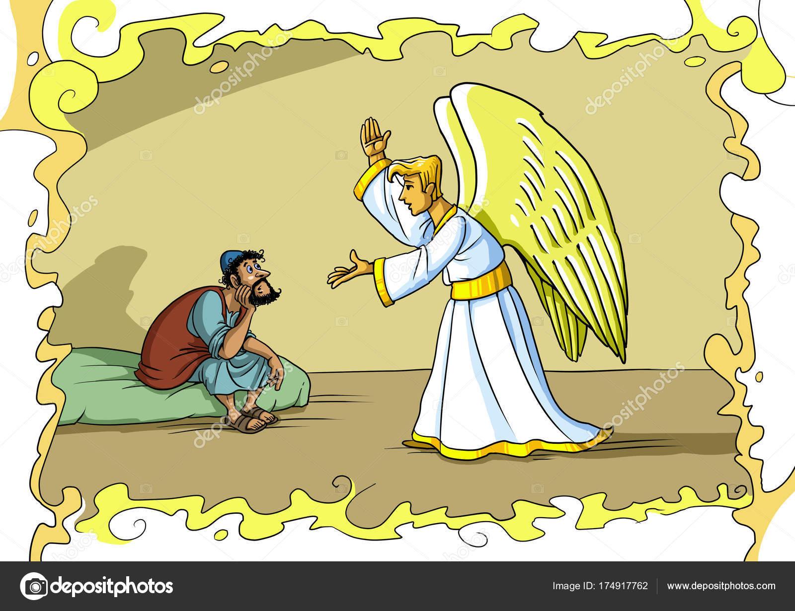 Imagenes Del Angel Gabriel Con Maria Cuento De Navidad El Angel