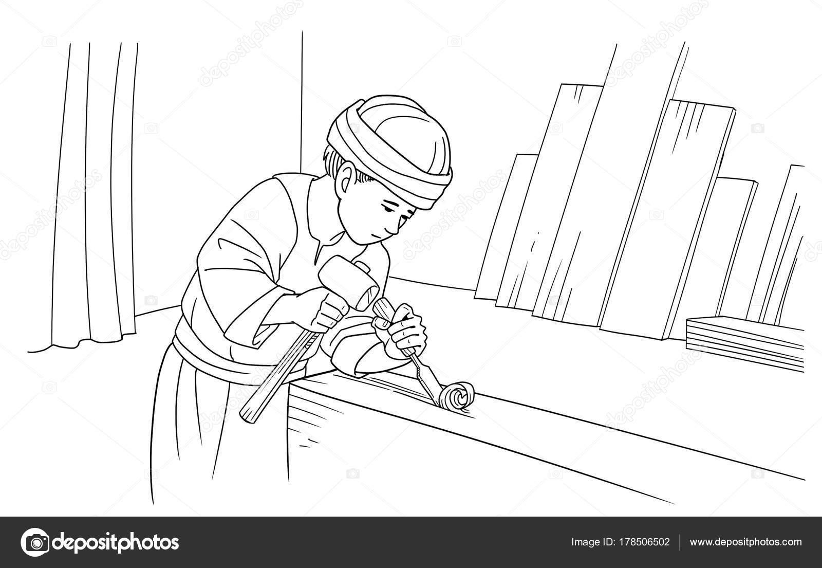 Imágenes Del Niño Dios Para Descargar Niño Jesús Ayuda A Su Padre