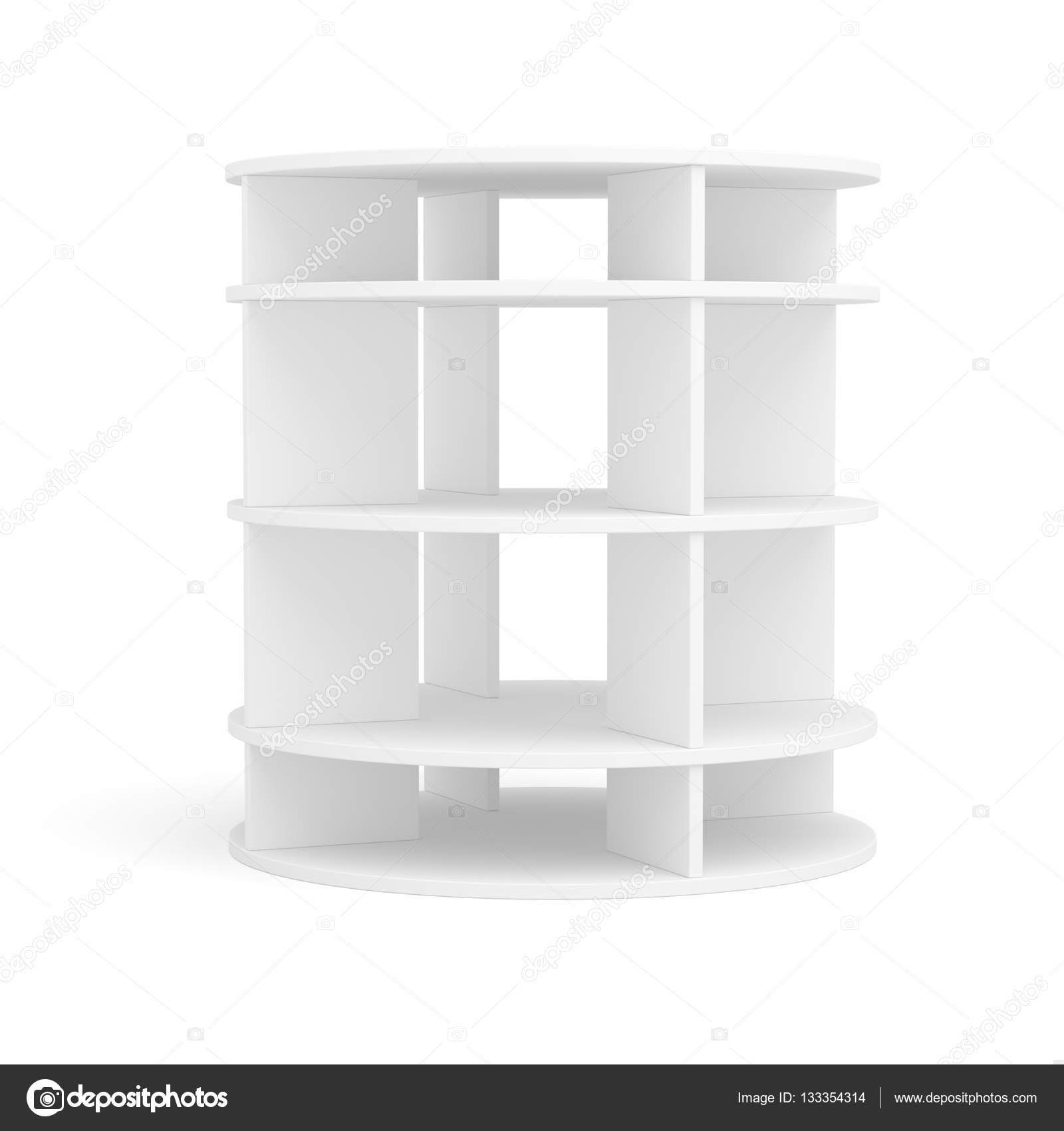 Runde Regale leere runde regal für ausstellung stockfoto cherezoff 133354314