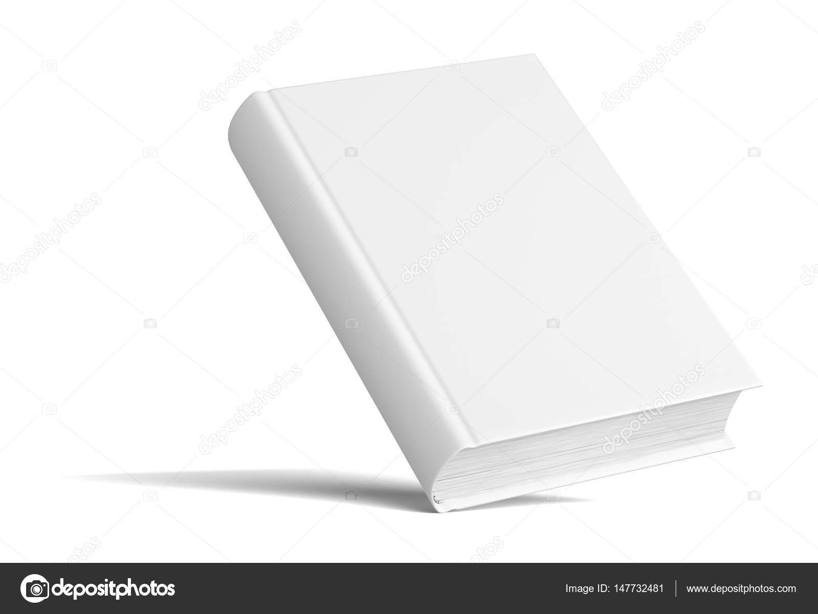 blank book with shadows mock up template stock photo cherezoff