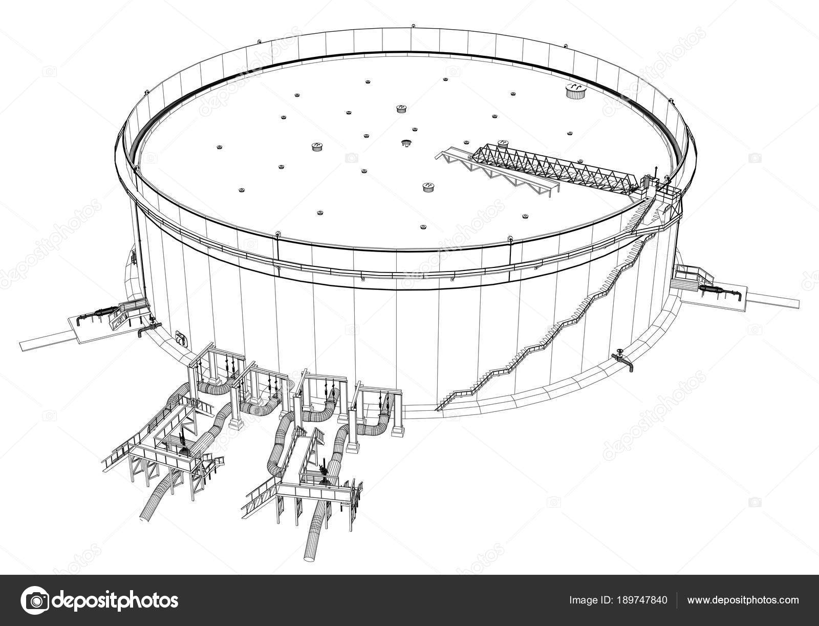Tanque de aceite de marco de alambre — Foto de stock © cherezoff ...
