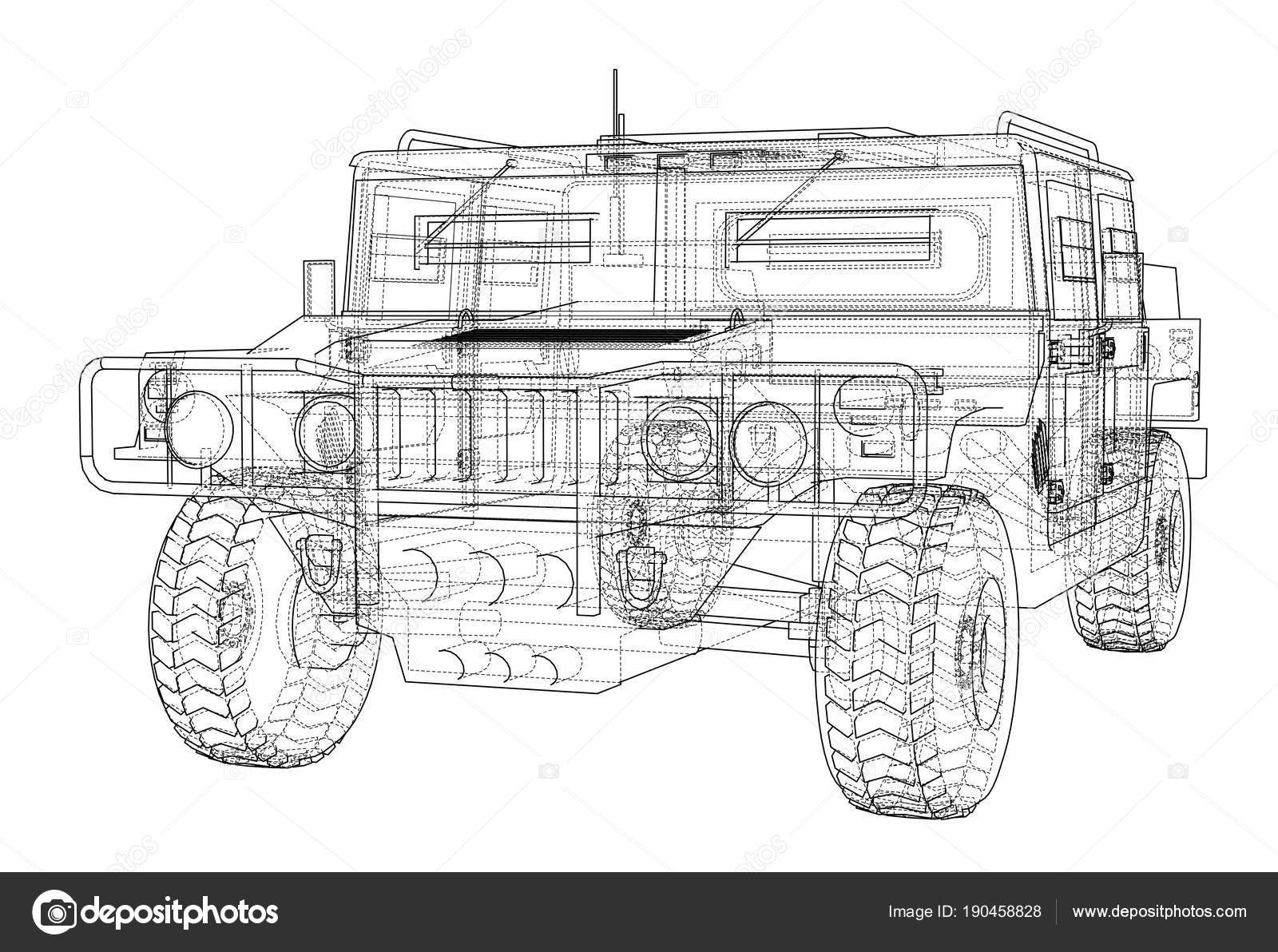 Auto Bauplan zu bekämpfen — Stockfoto © cherezoff #190458828