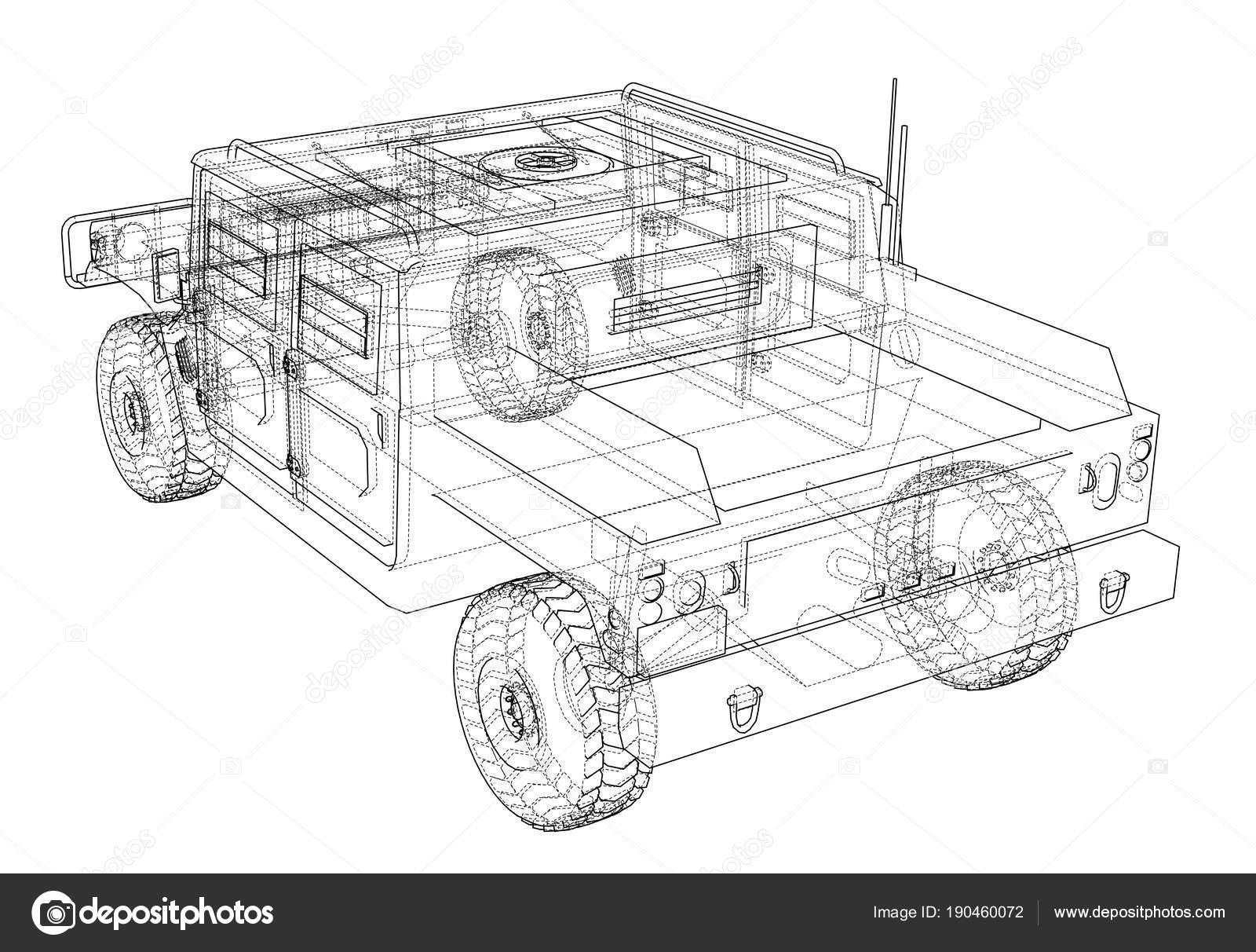Auto Bauplan zu bekämpfen — Stockfoto © cherezoff #190460072