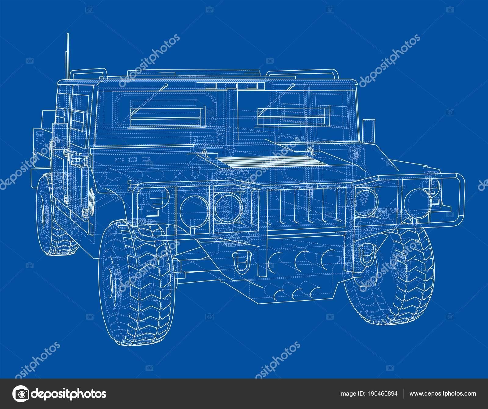 Auto Bauplan zu bekämpfen — Stockfoto © cherezoff #190460894