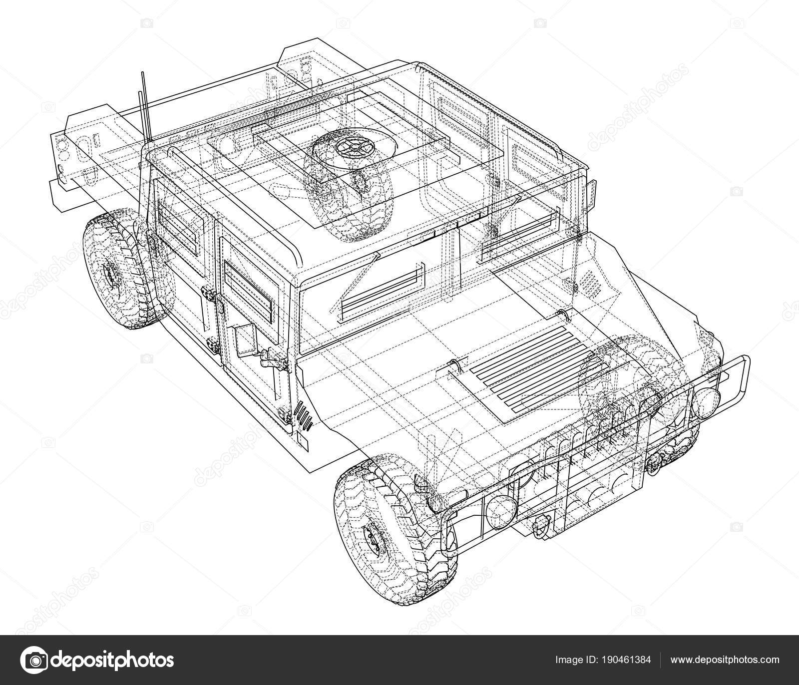 Auto Bauplan zu bekämpfen — Stockfoto © cherezoff #190461384