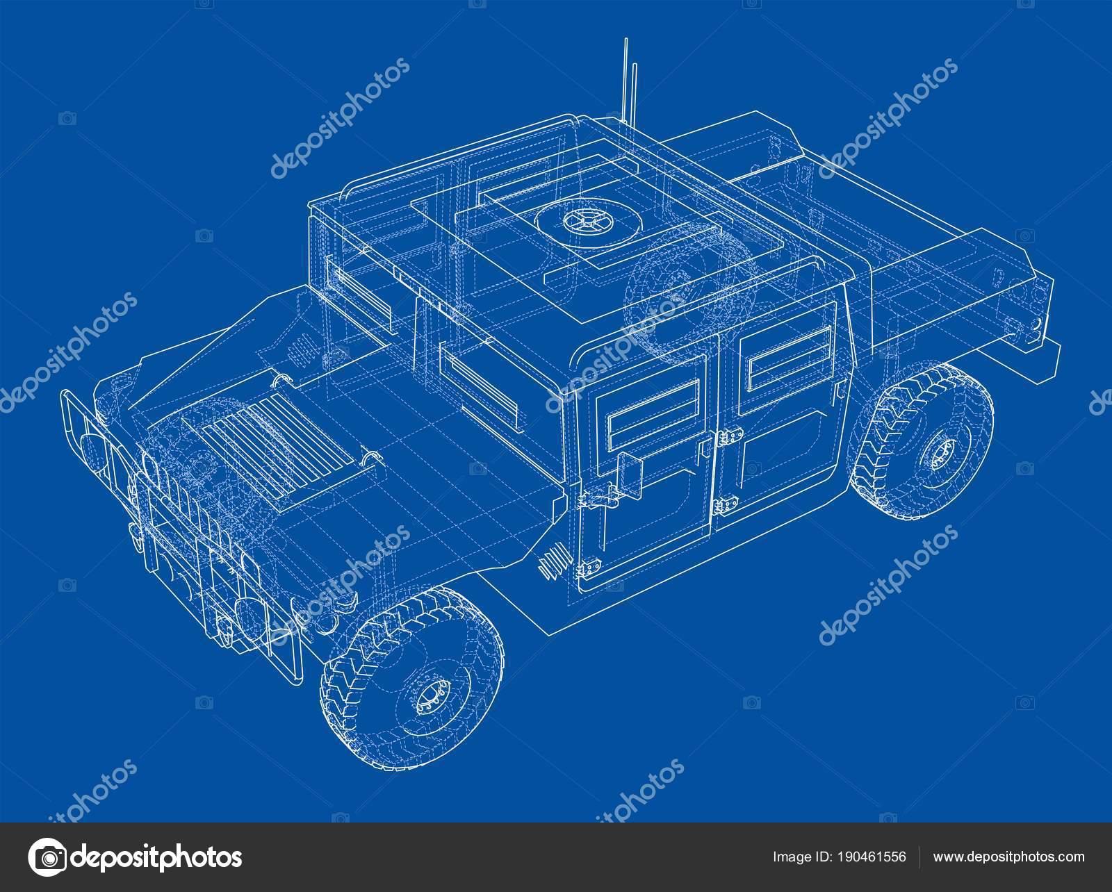 Auto Bauplan zu bekämpfen — Stockfoto © cherezoff #190461556