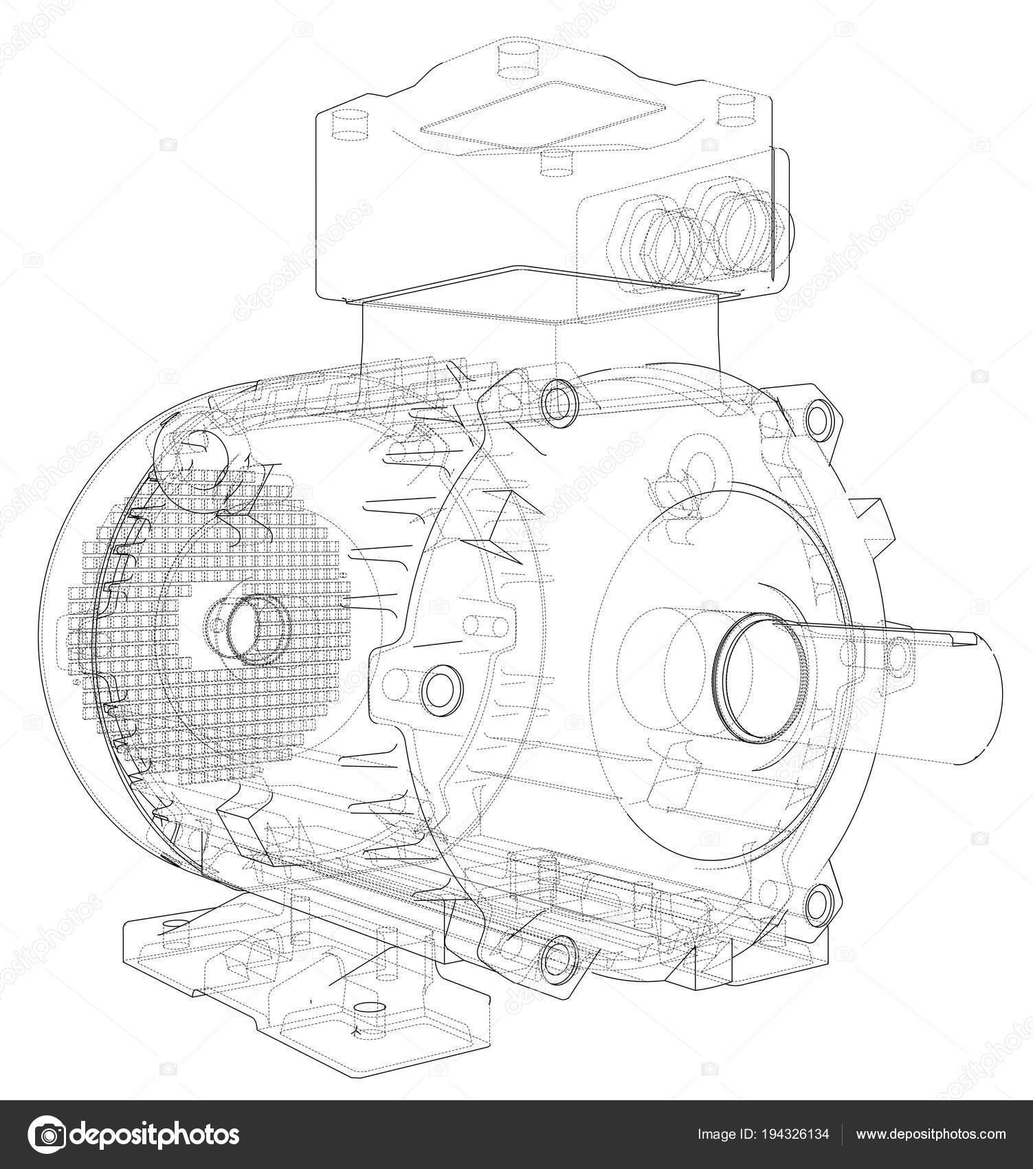 sch u00e9ma moteur  u00e9lectrique