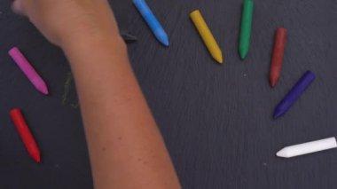 Hand writting back to school