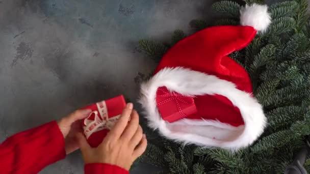 Karácsonyi jelenet ajándék