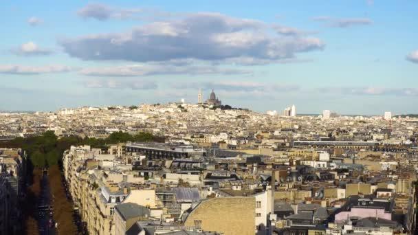 Mont Matre hill, Paris, France