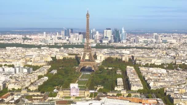 Torre Eiffel e il paesaggio urbano di Parigi