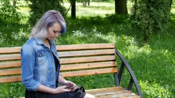 Maquillaje para vestido azul mezclilla