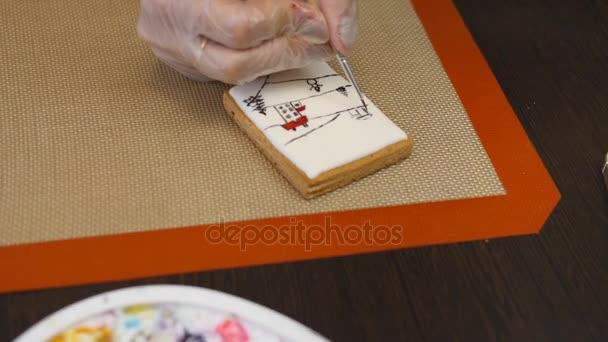Pečivo chef provádí dovedně svátek pořadí.