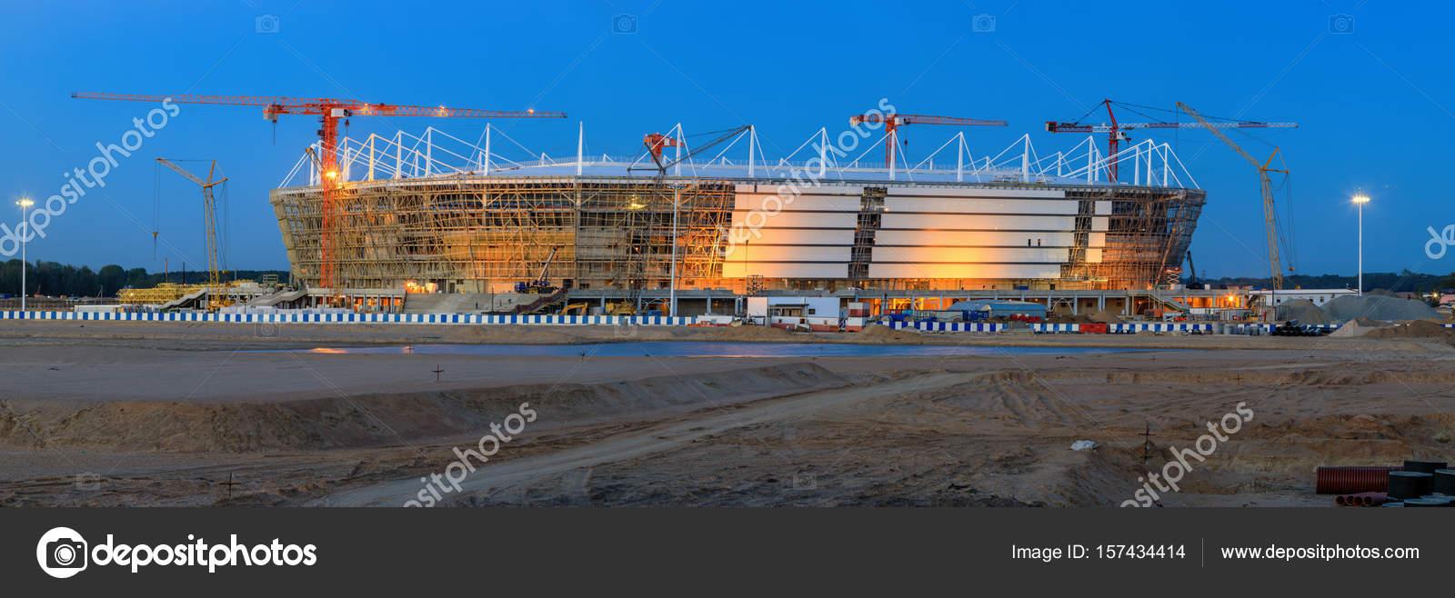 мира 2018 строительство к калининград чемпионату