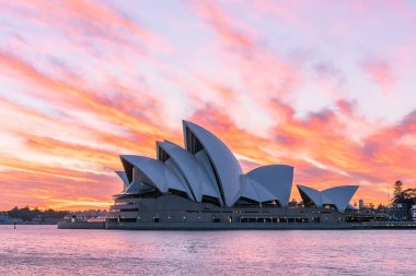 Sydney Opera House Sydney Australia at sunrise