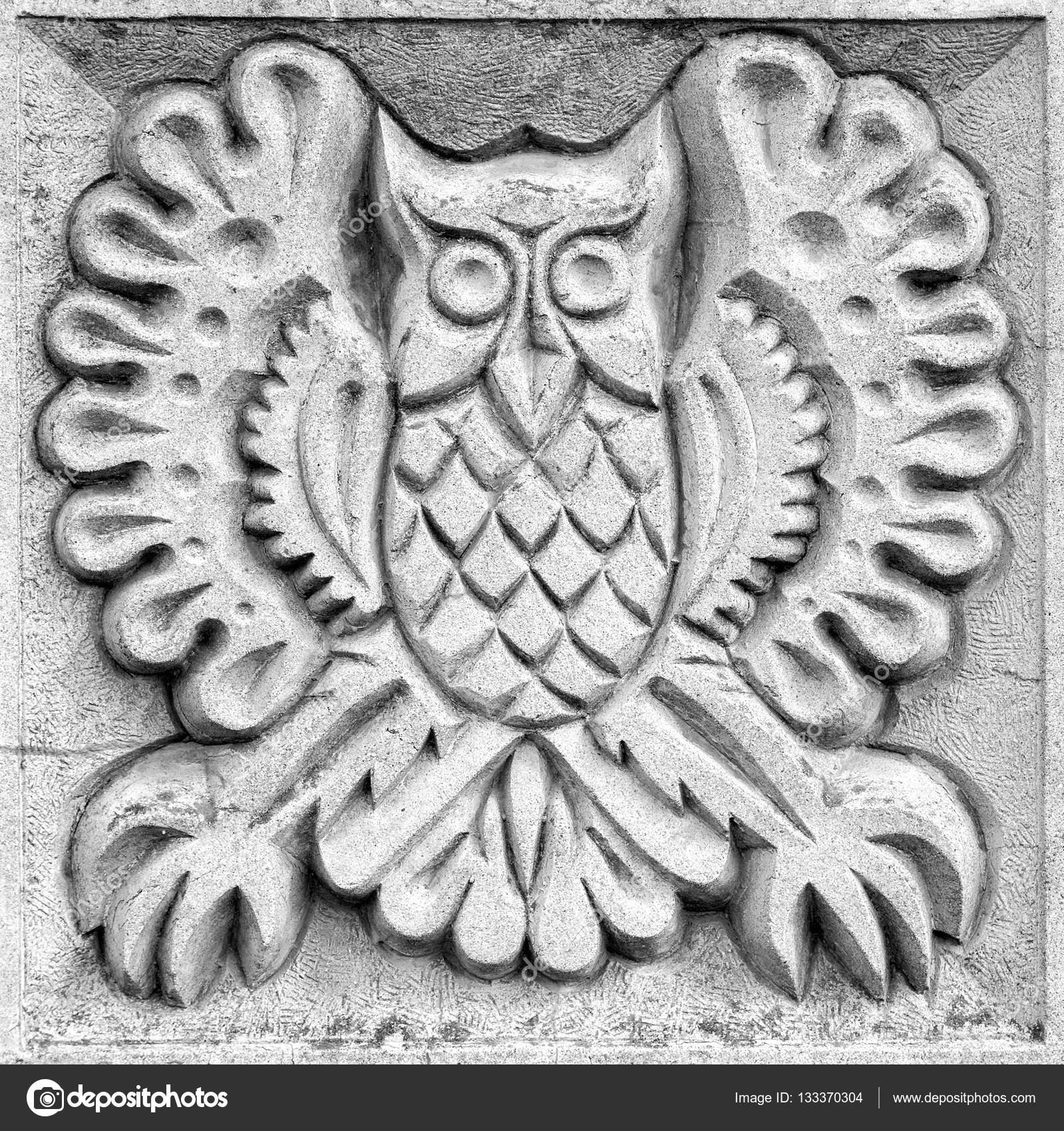 Owl wood carving animal relief grxf dner schnitzereien owl png