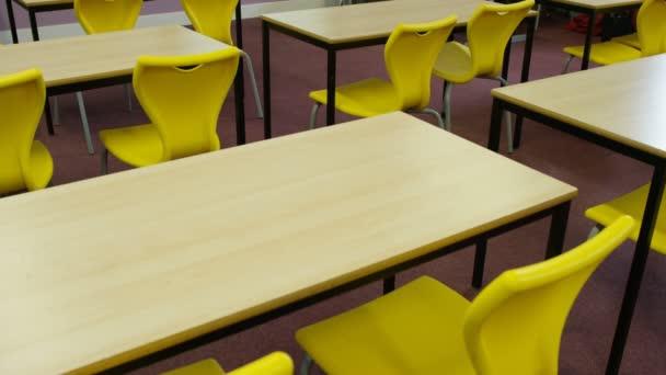 Interiér školní učebny