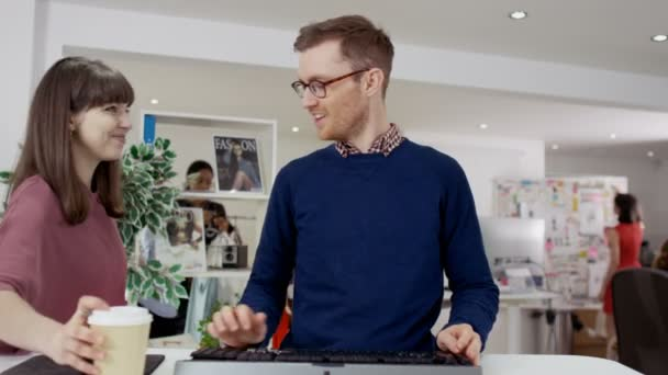 professional man working at computer
