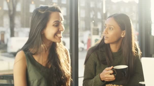 friends having drinks in coffee shop