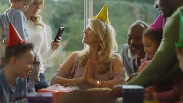 lady celebrates her birthday