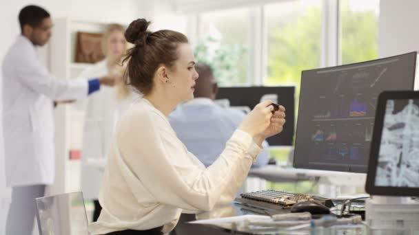 engineers analyzing technical data