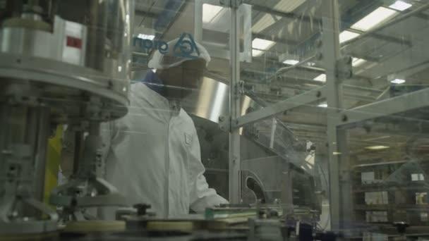 Farmaceutické výrobní továrna