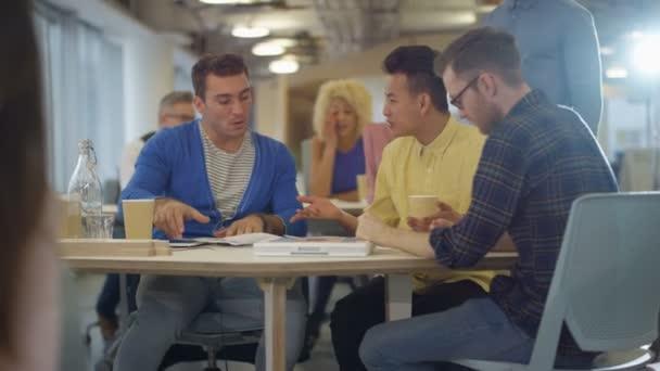 casual business team brainstorming ideas office meeting u2014 stock video office meeting ideas f3 office