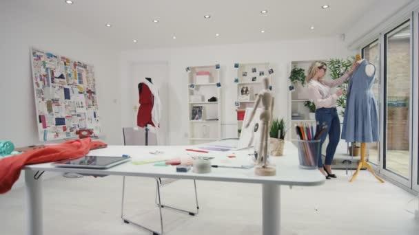 Fashion Designer Work Creative Studio Stock Video C Hotelfoxtrot 183594694