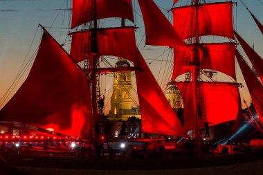 Holiday Scarlet Sails in St. Petersburg