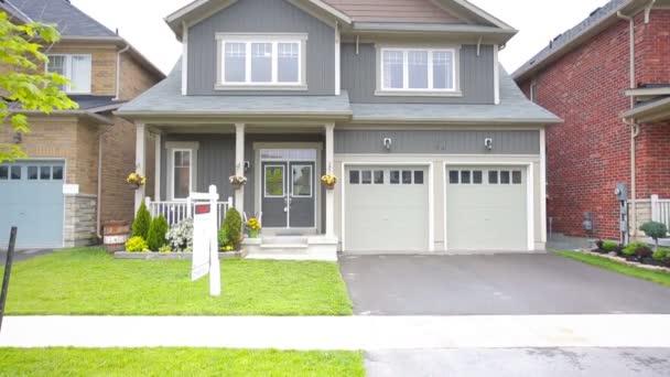 Suburban Home. Custom home exterior