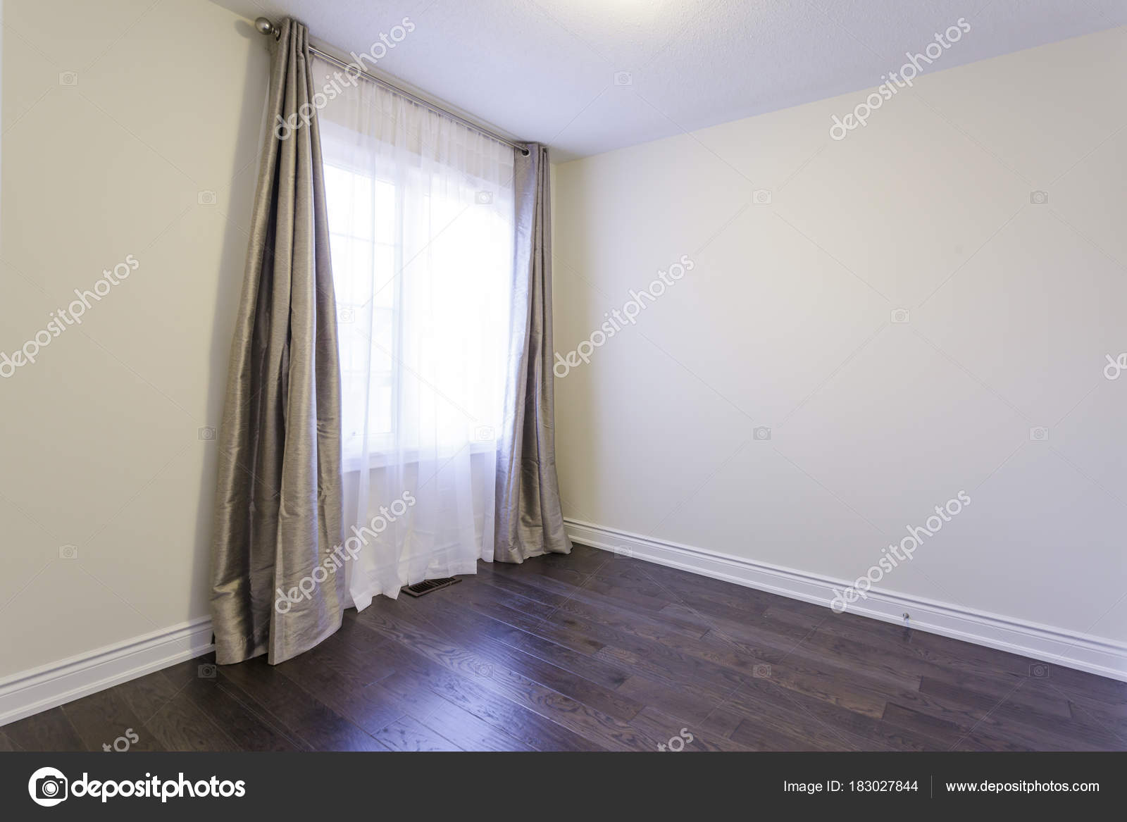Empty Bedroom In A House Stock Photo C Sergey02 183027844