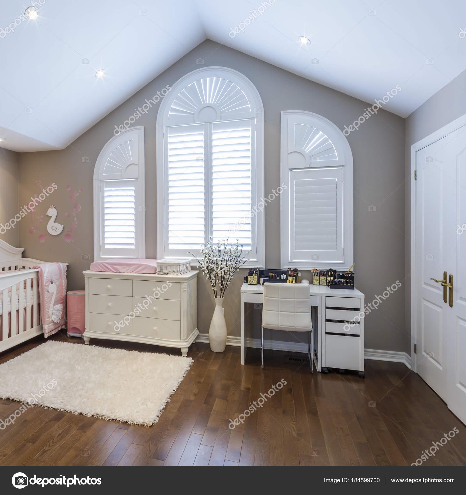 kinderkamer interieur stockfoto