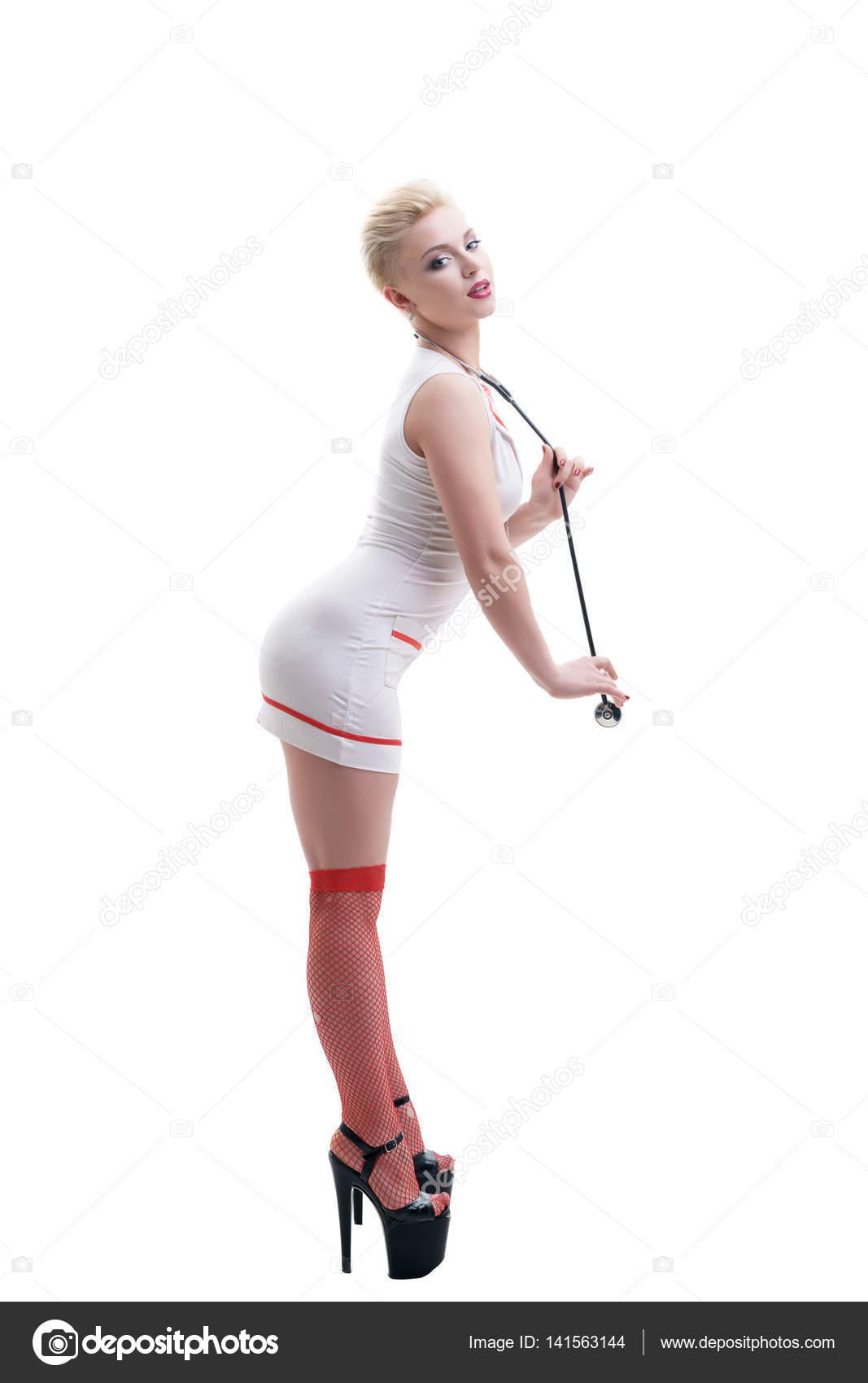 That interrupt Sexy nurses stockings free