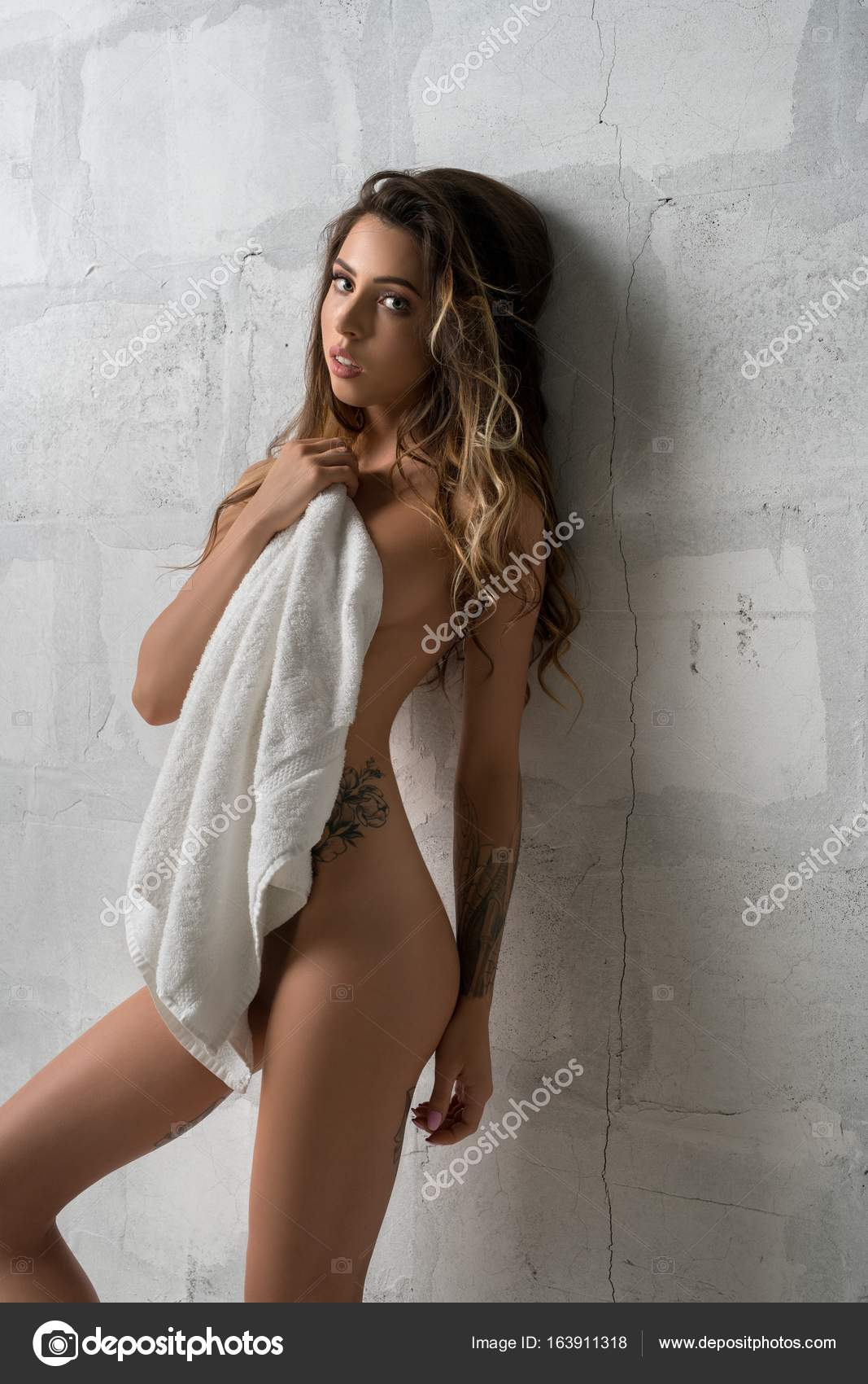 Towel girl nude, naked smurfette pussy