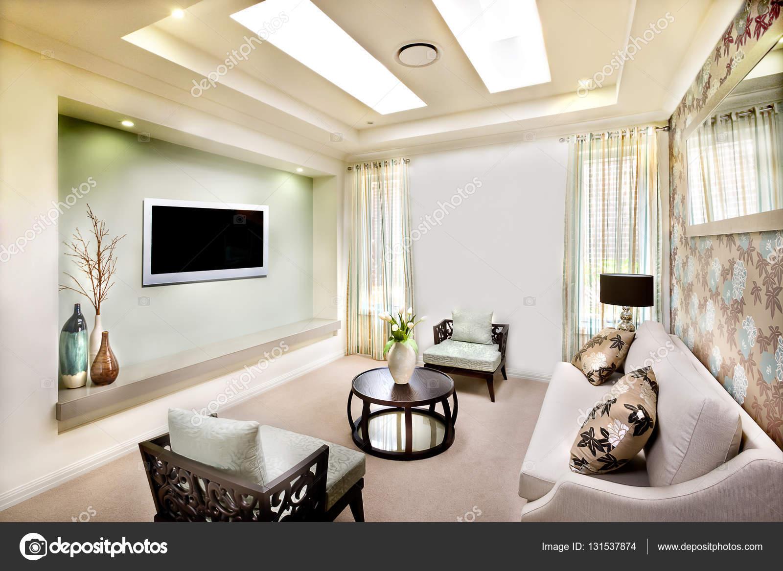 Design Woonkamer Decoratie : Woonkamer interieur design van een moderne woning met perfecte