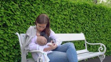 Eine Dreckige Mama Im Park