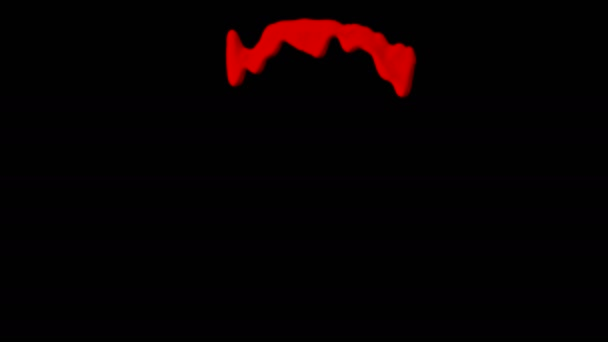 Dripping Blood Isolated Element