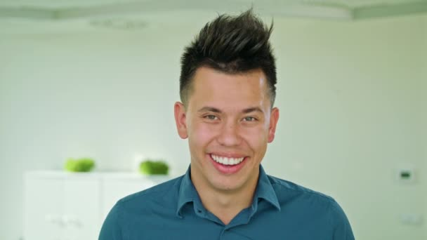 Portrait of Successful Smiling Businessman