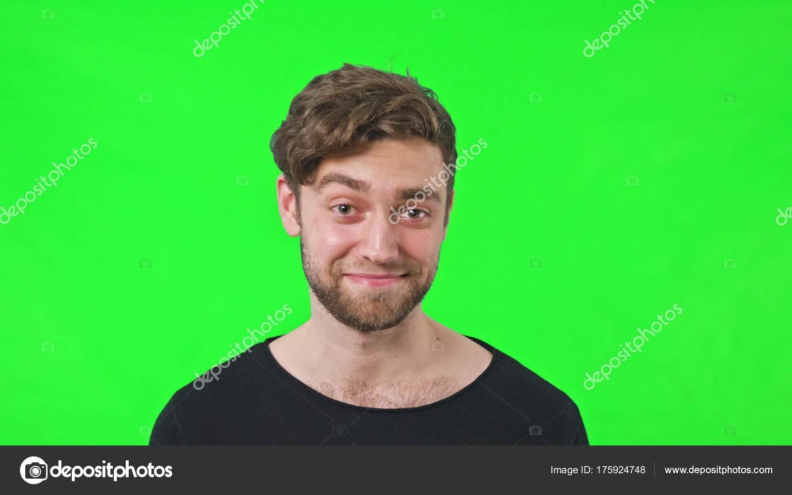 Man Face Raise An Eyebrow Stock Photo Mputsylo 175924748