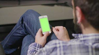 Green Screen Phone Man