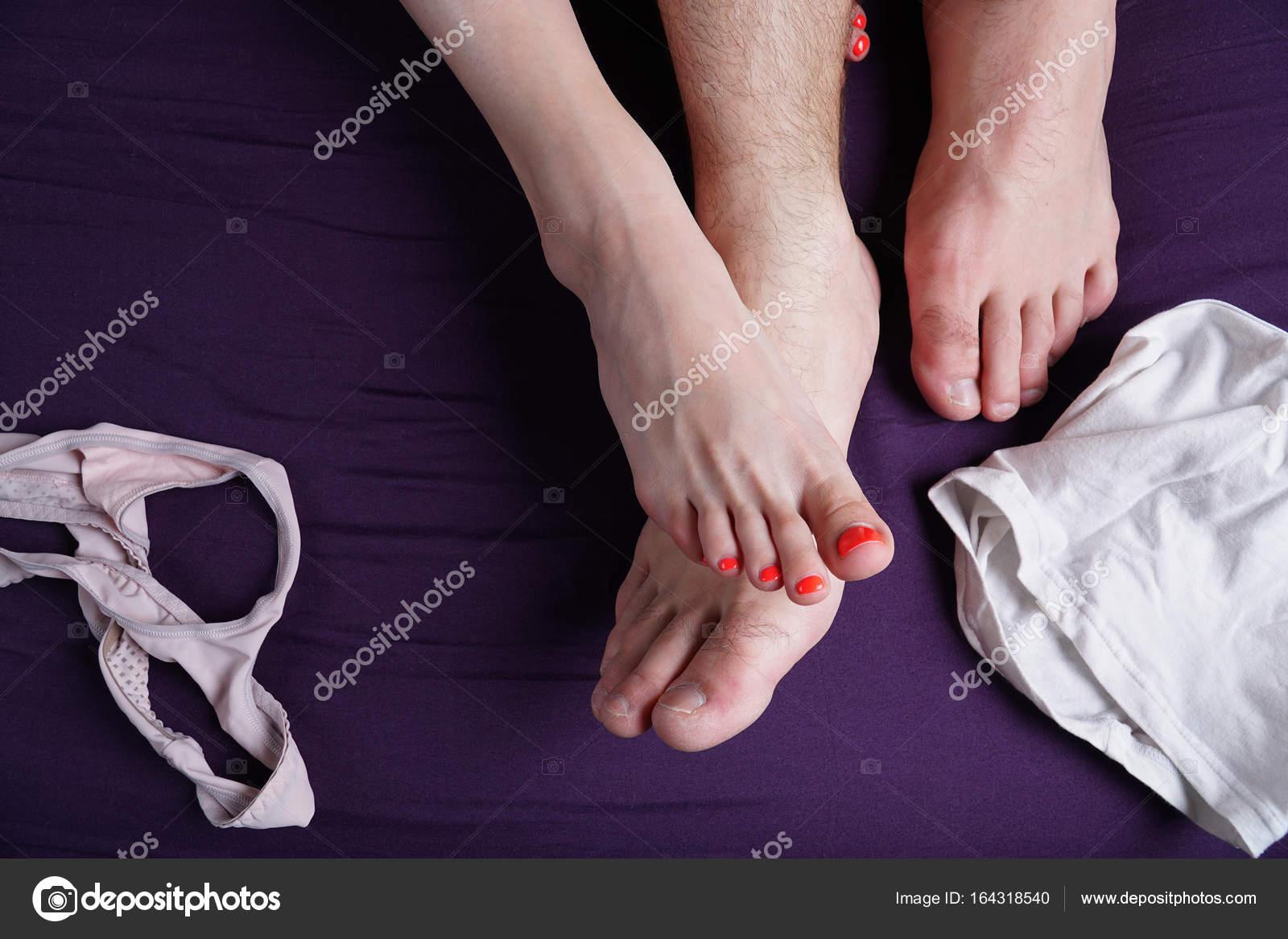 Πόδι σεξ μασάζ