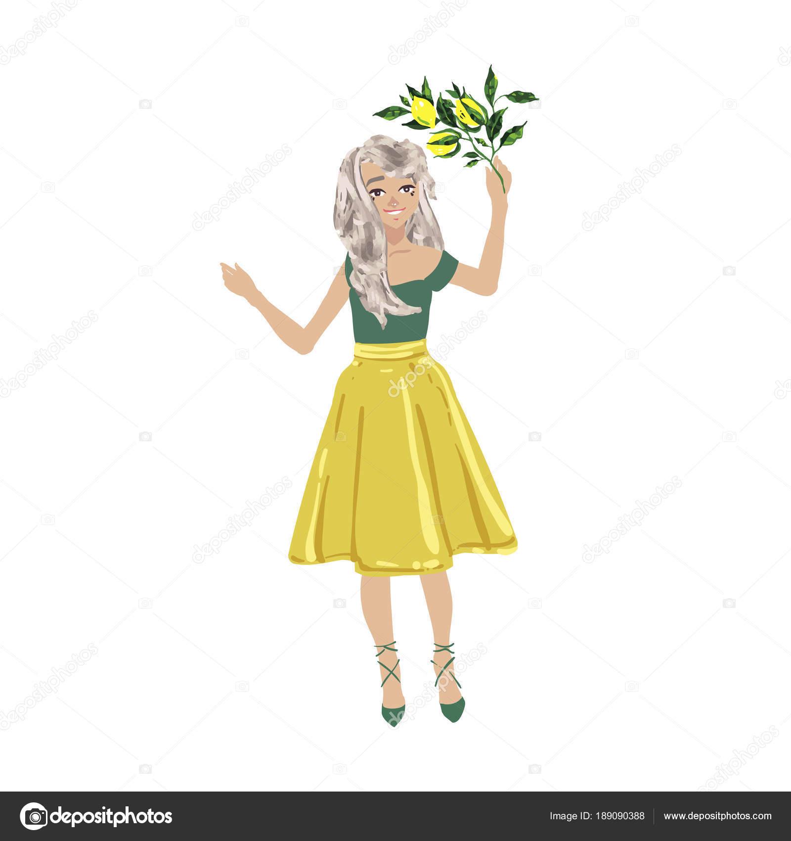 Dibujos Mujeres Con Flores Hermosa Mujer Chicas Amigos Pie