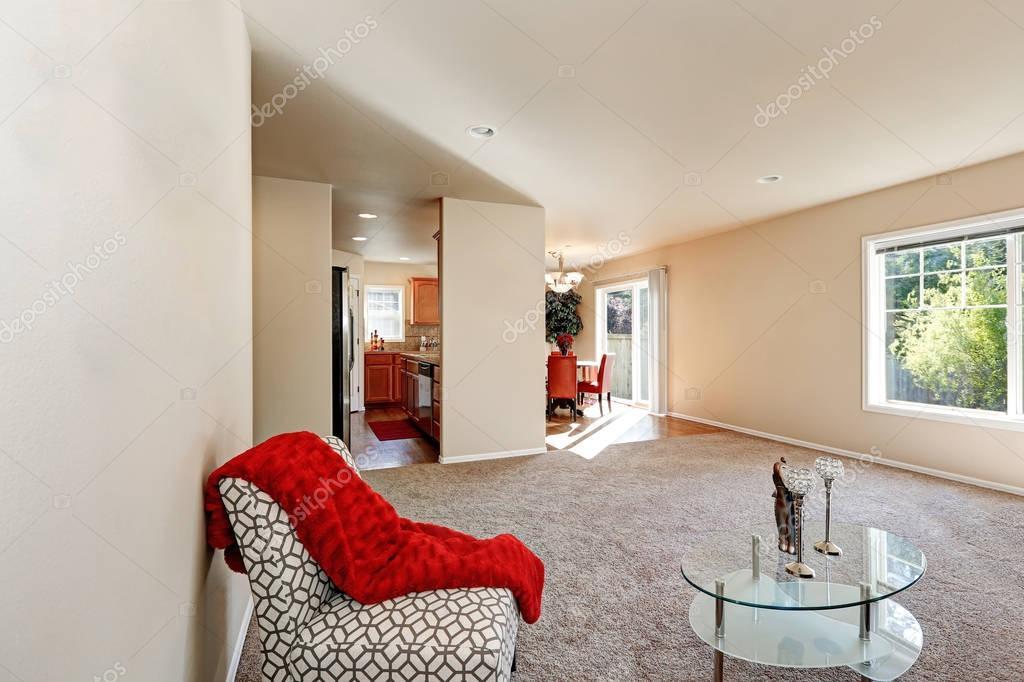 Design d\'intérieur salon américain typique — Photographie ...