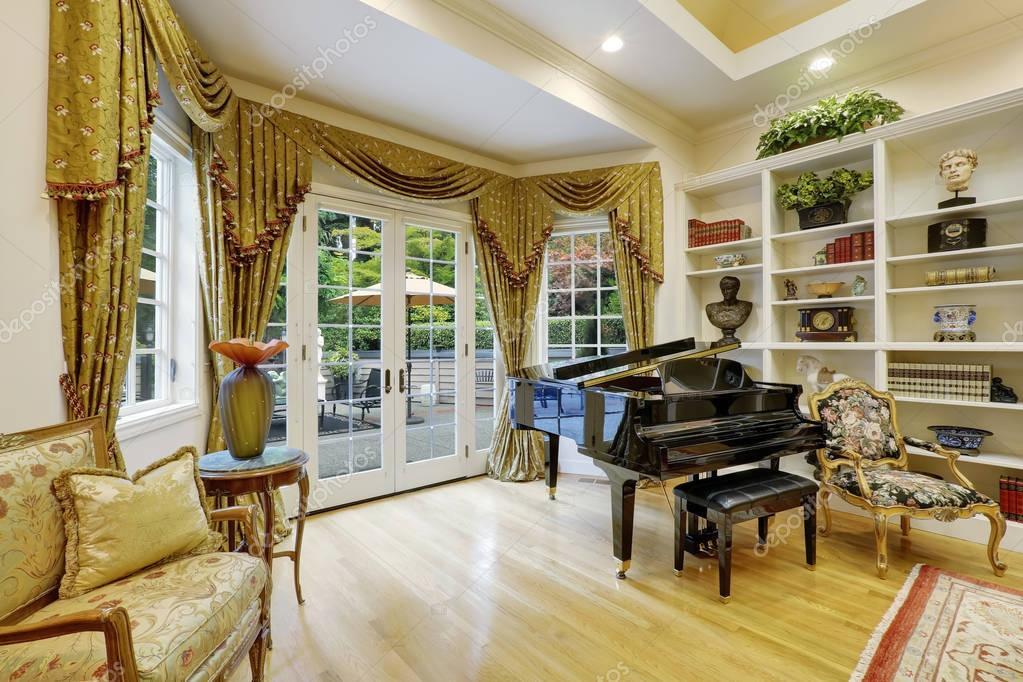 Best soggiorno di lusso photos home interior ideas for Case lusso interni