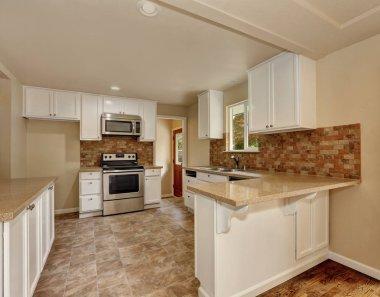 American classic style kitchen room interior
