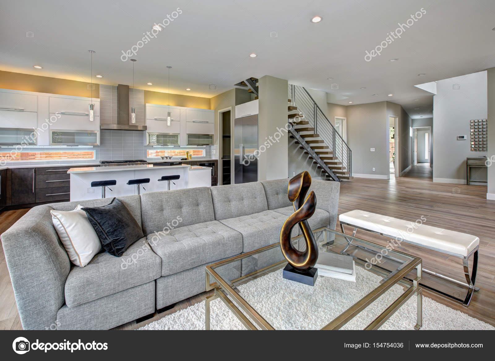 Wohnzimmer Im Modernen Stil U2014 Stockfoto