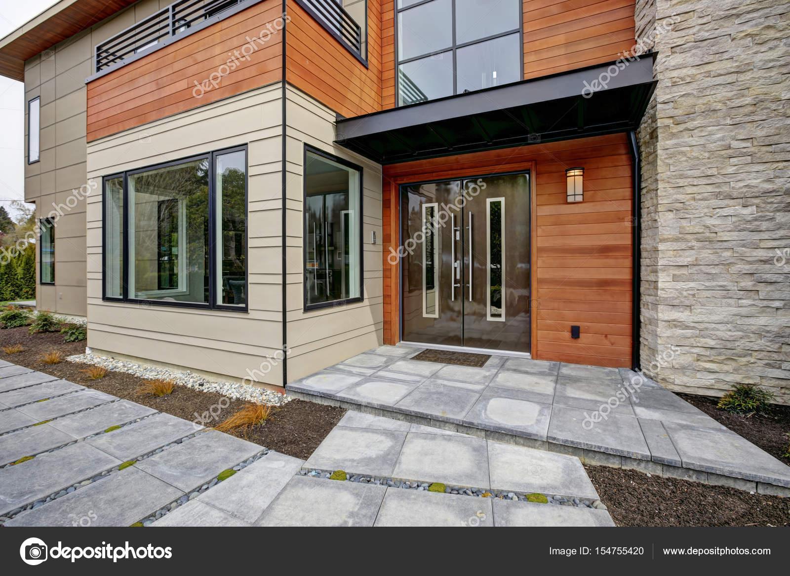 Zeitgenössischen Stil zu Hause in Bellevue — Stockfoto © iriana88w ...