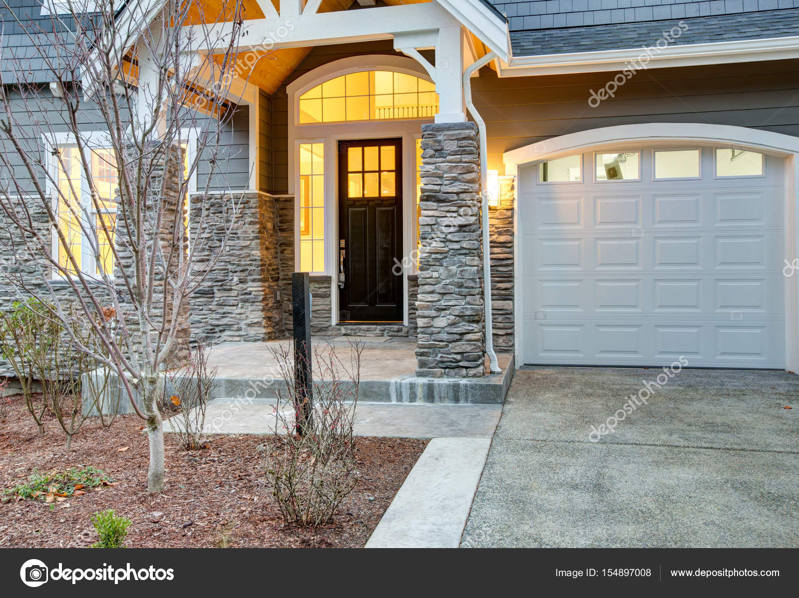 Pictures stone front porch front covered porch design